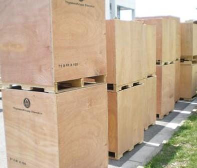 機柜出口木箱包裝